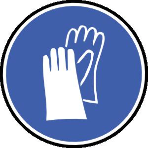 Oznakowanie rękawic ochronnych